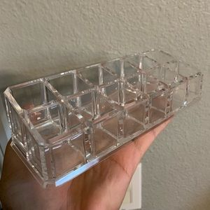 Other - clear makeup holder